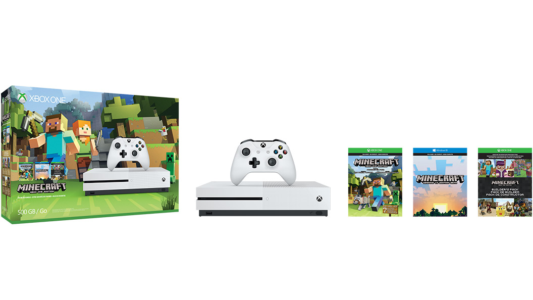 XBOX ONE S 500 GB + 1 x hra (Minecraft Favorites)