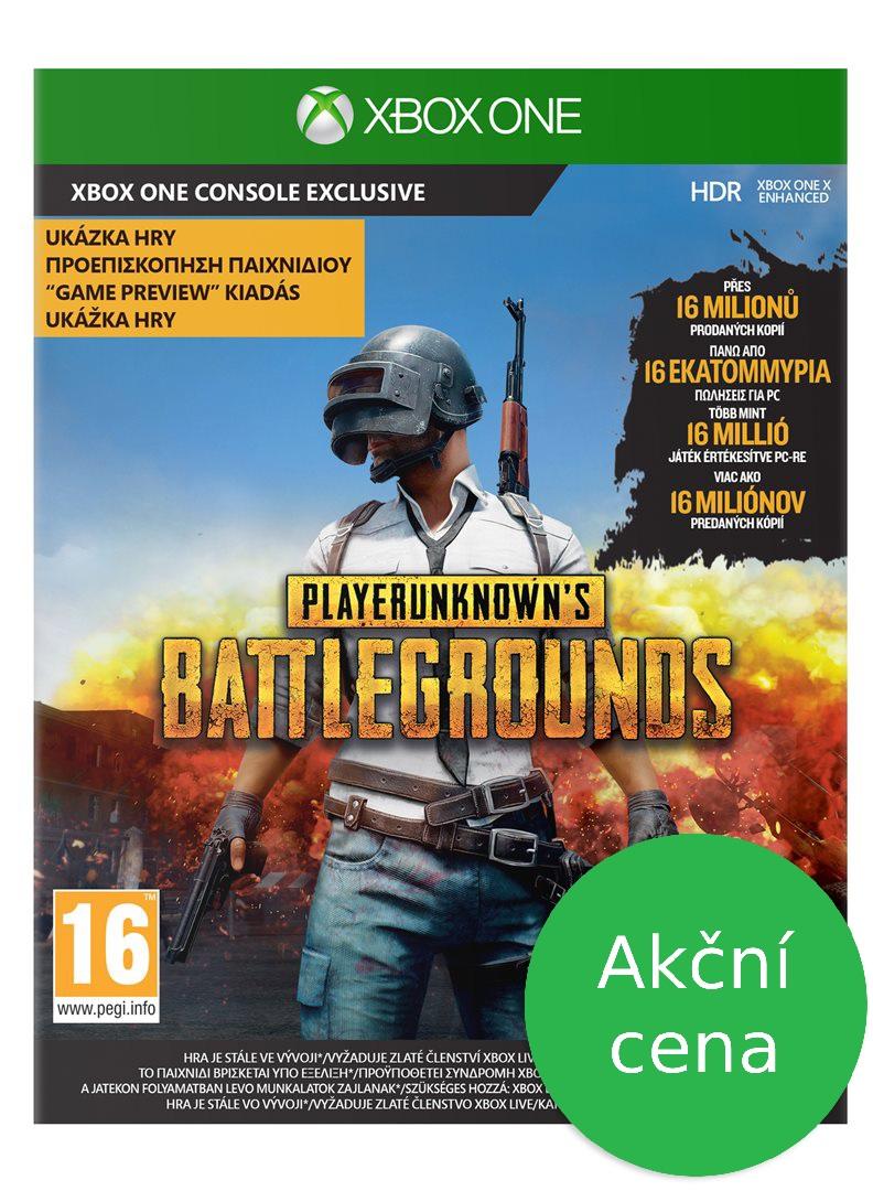 AKCE: XBOX ONE - PlayerUnknown's Battlegrounds (PUBG)