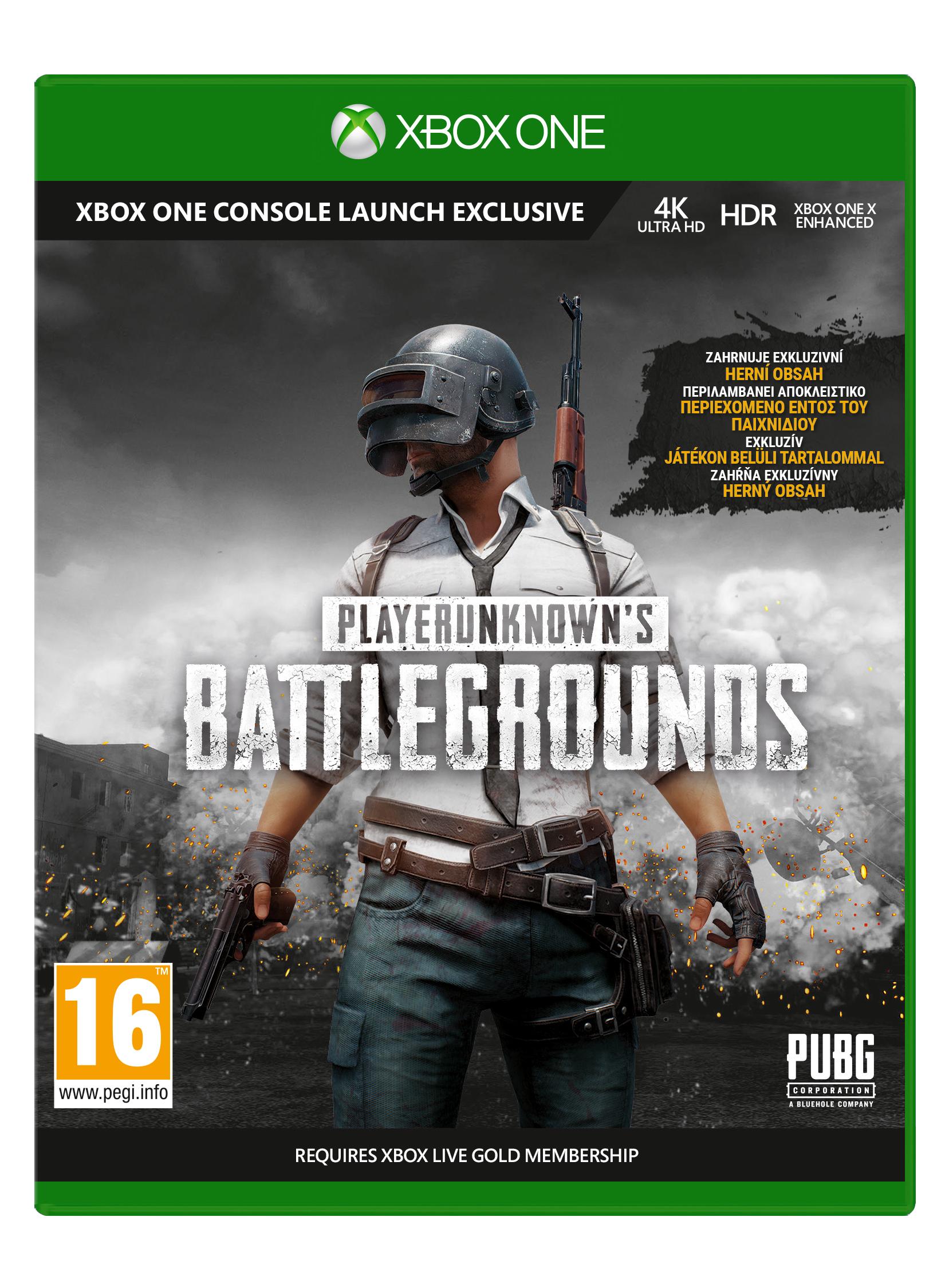 XBOX ONE - PlayerUnknown's Battlegrounds 1.0 (PUBG 1.0)