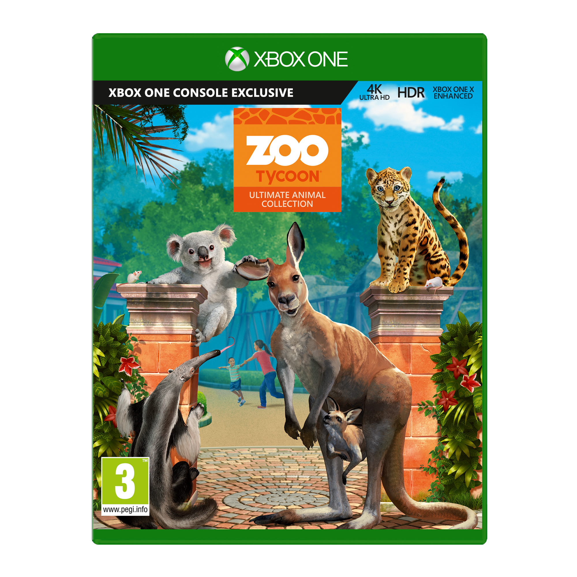 XBOX ONE - Zoo Tycoon Ultimate Animal Collection - GYP-00020