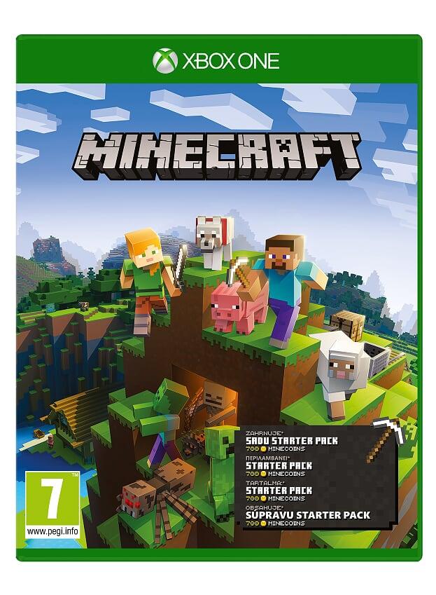XBOX ONE - Minecraft Starter Collection - 44Z-00124