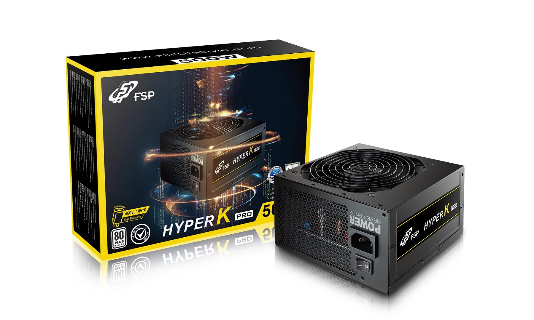 FSP/Fortron HYPER K PRO 500 retail, >85%, 500W