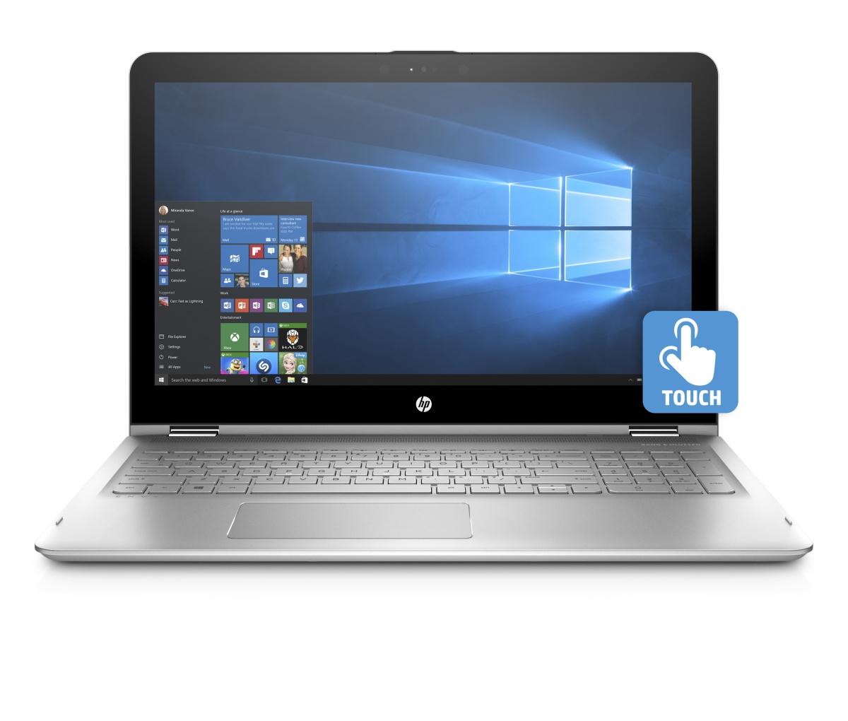093-001453 - HP Envy x360 15-aq101nc FHD i5-7200U/8GB/1TB+128SSD/2RServis/W10-silver