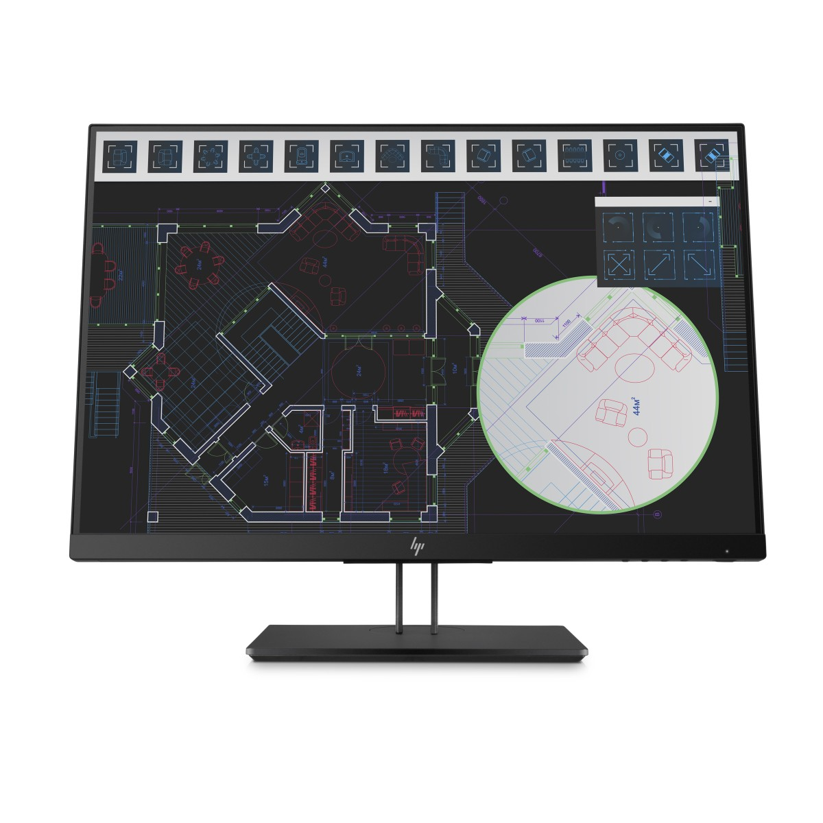 HP Z24i 24'' G2 1920x1200/300jas/DP/HDMI/VGA/5ms