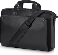 HP Exec Black Leather 15.6 Top Load