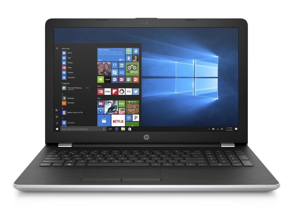 HP 15-bs015nc FHD N3710Q/4GB/256SSD/DVD/2RServis/W10H/Natural silver