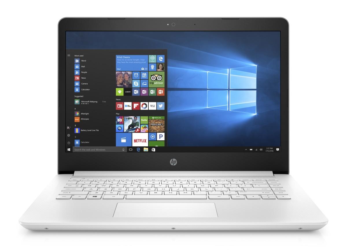 HP 14-bp002nc HD N3710/4GB/1TB/2RServis/W10-snow white