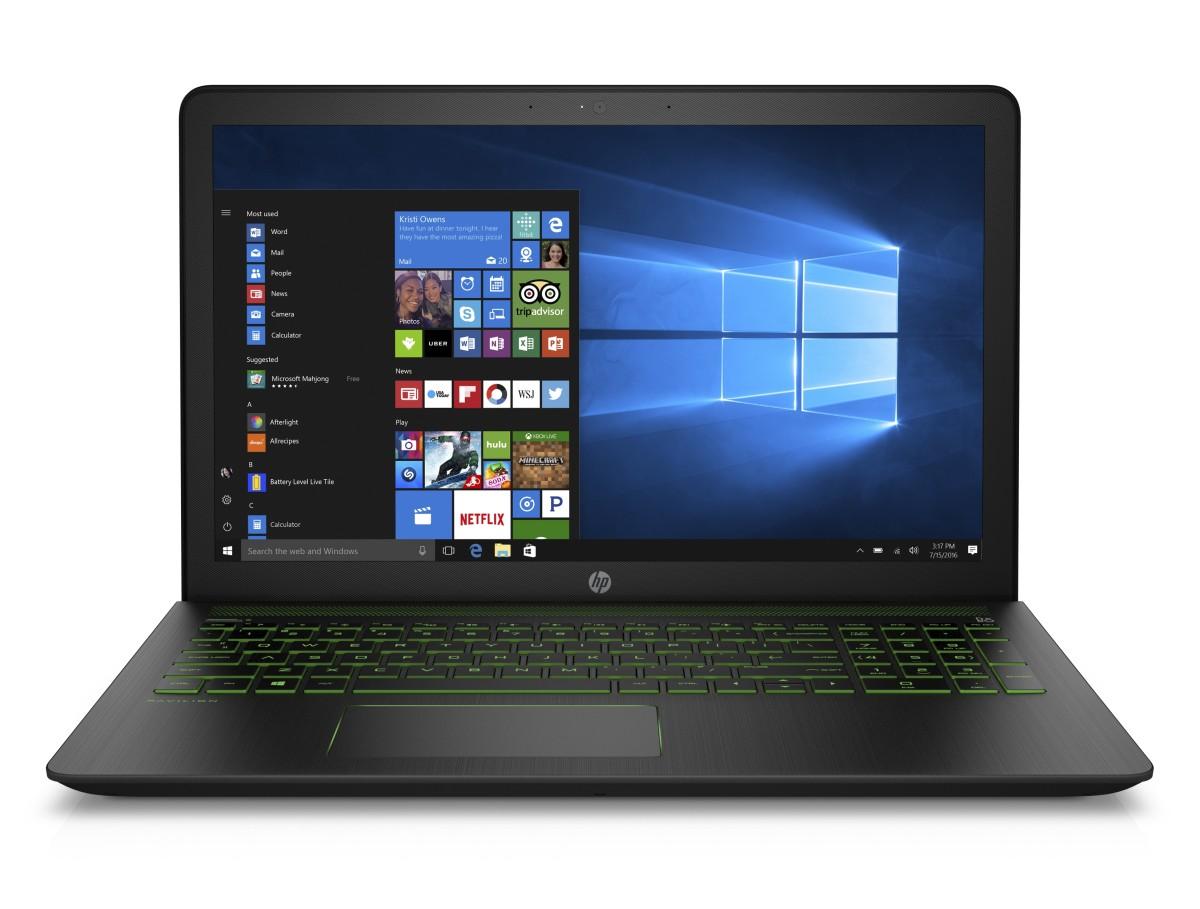 093-001453 - HP Power Pavilion 15-cb007nc FHD i5 7300/16GB/1TB/NV4GB/2RServis/W10H/shadow black