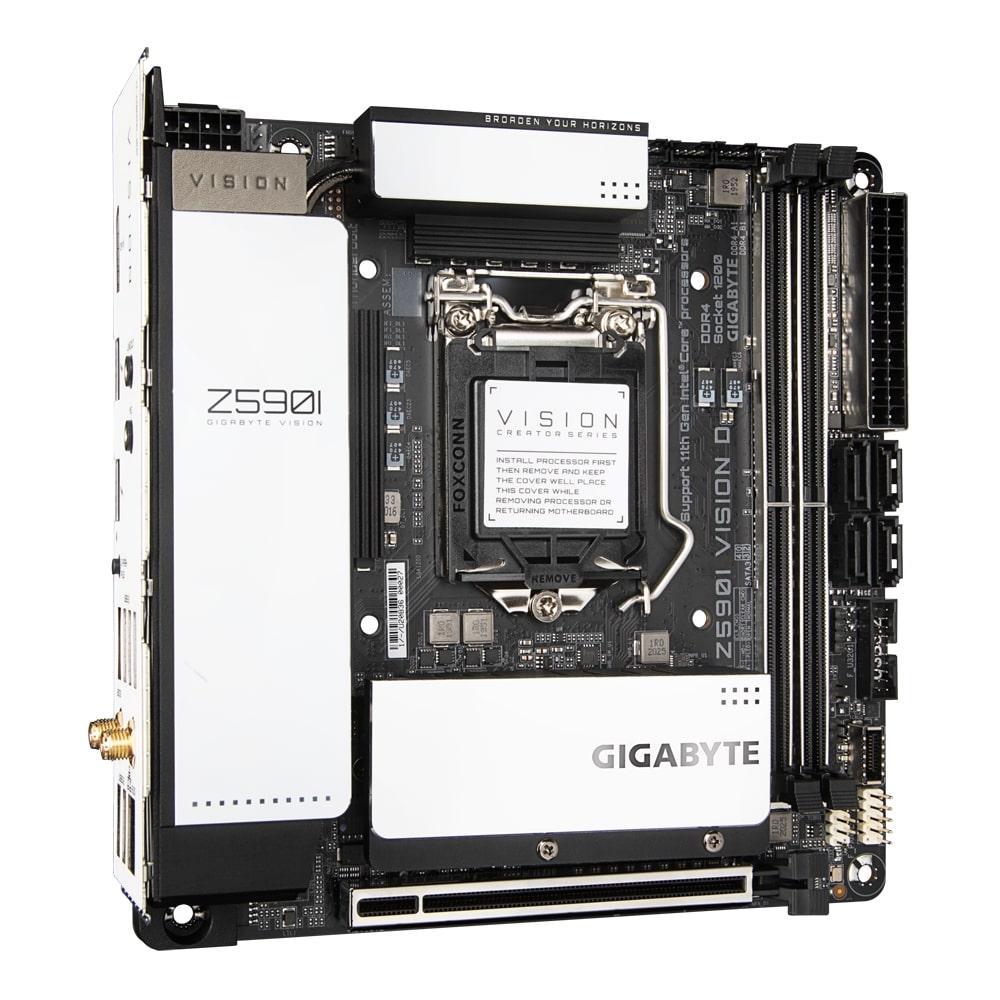 GIGABYTE Z590I VISION D - Z590I VISION D