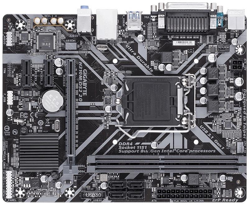 GIGABYTE H310M DS2 2.0 (rev. 1.0)