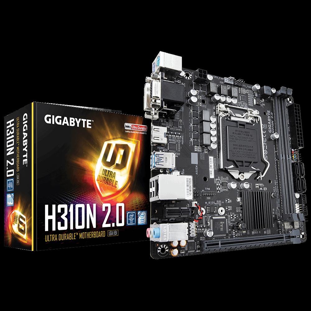 GIGABYTE H310N 2.0 (rev. 1.0)