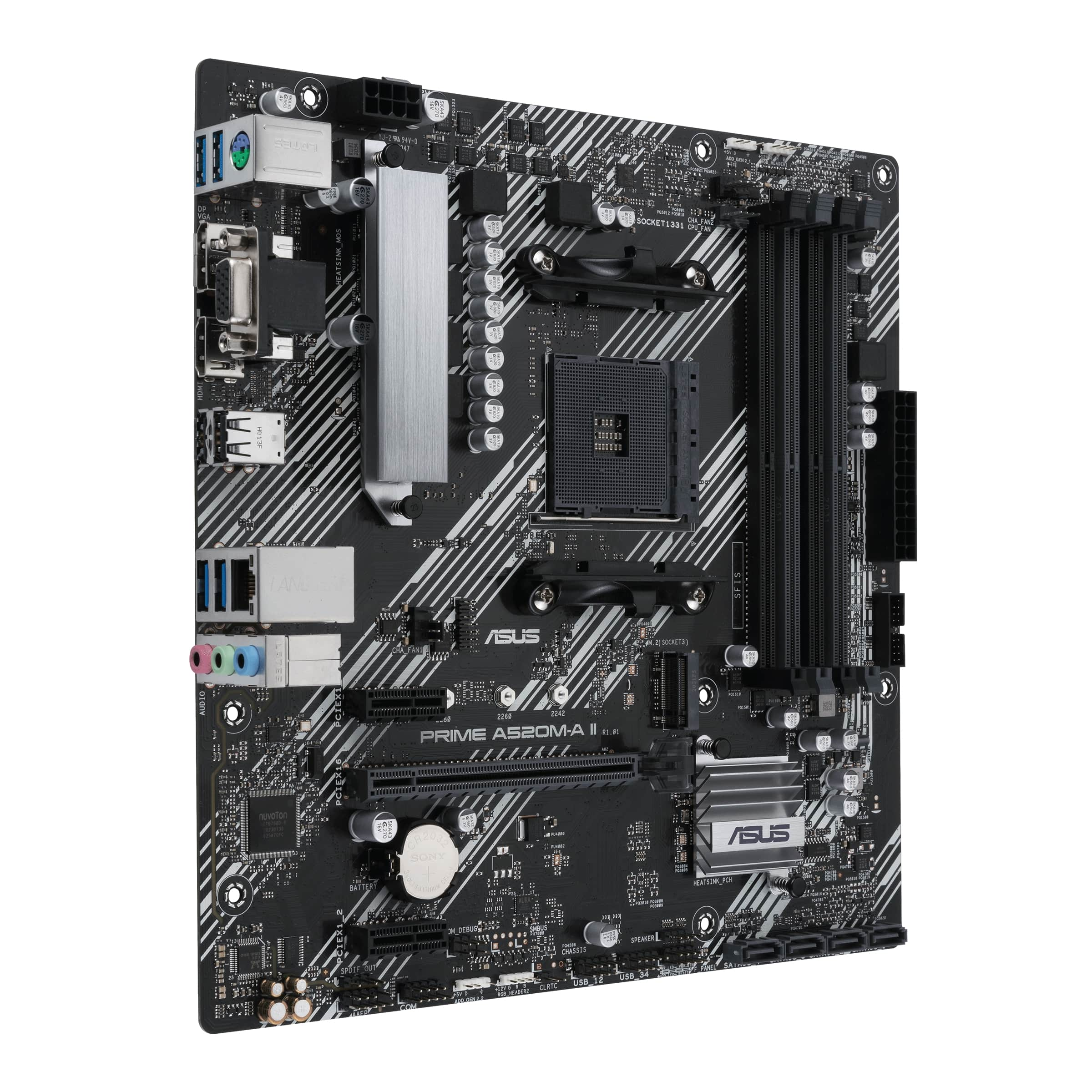 ASUS PRIME A520M-A II - 90MB17H0-M0EAY0