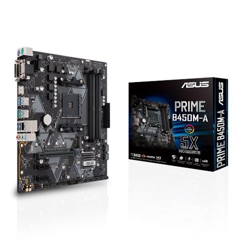 ASUS PRIME B450M-A/CSM + Cerberus mini pad