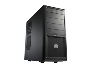 CoolerMaster case miditower Elite 370,ATX,black,be