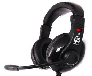 Herní sluchátka Zalman ZM-HPS200 40mm driver - ZM-HPS200