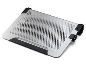 R9-NBC-U3PS-GP chladicí ALU podstavec Cooler Master NotePal U3 PLUS pro NTB 15-19'' silver, 3x8cm fan