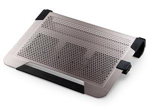 R9-NBC-U3PT-GP chladicí ALU podstavec Cooler Master NotePal U3 PLUS pro NTB 15-19'' titanium, 3x8cm fan