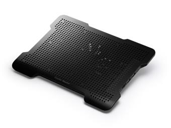 R9-NBC-XL2K-GP chladicí podstavec Cooler Master X-Lite II pro NTB 12-15,6'' black, 14cm fan, USB HUB