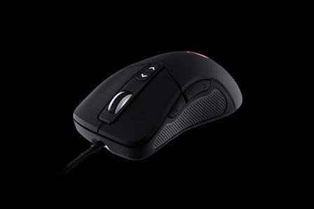 CM STORM laserová myš Mizar, 8200DPI, černá, USB,