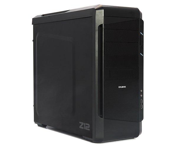 Zalman case miditower Z12, mATX/ATX, bez zdroje