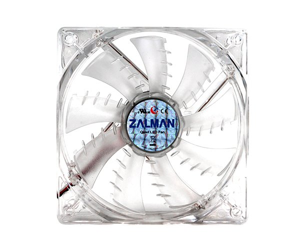 Ventilátor Zalman ZM-F3 LED SF 120mm, 23 dBA