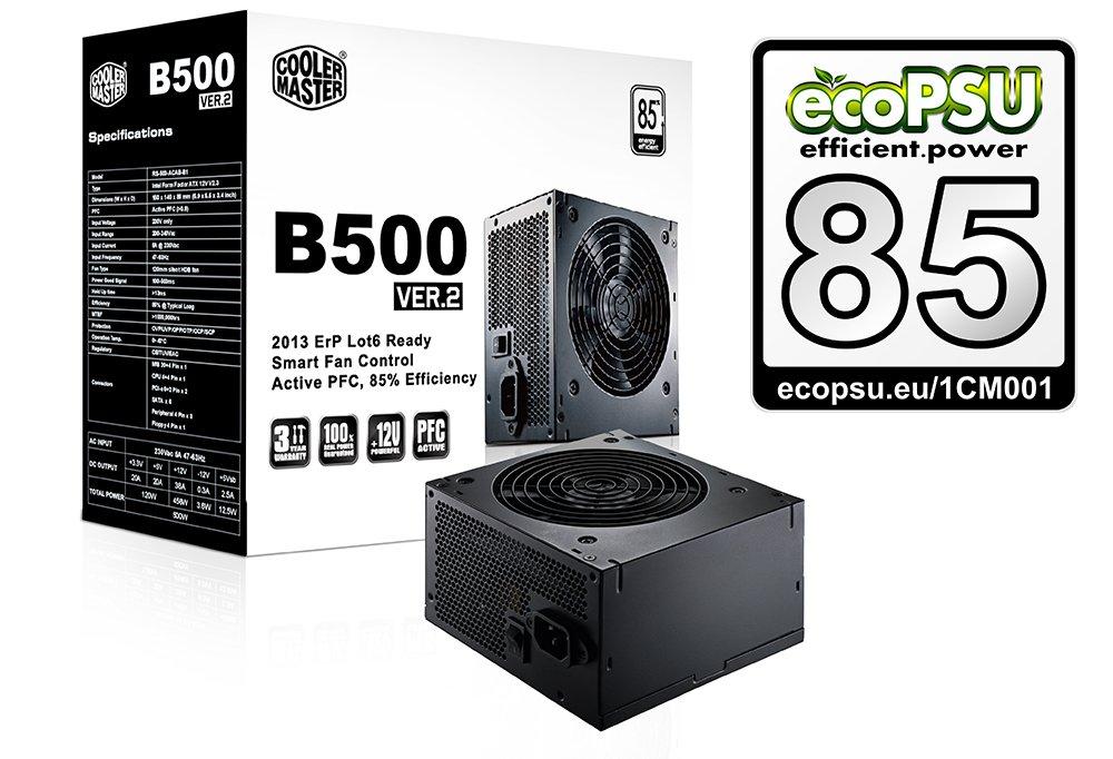 zdroj CoolerMaster B2 series 500W PFC v2.3