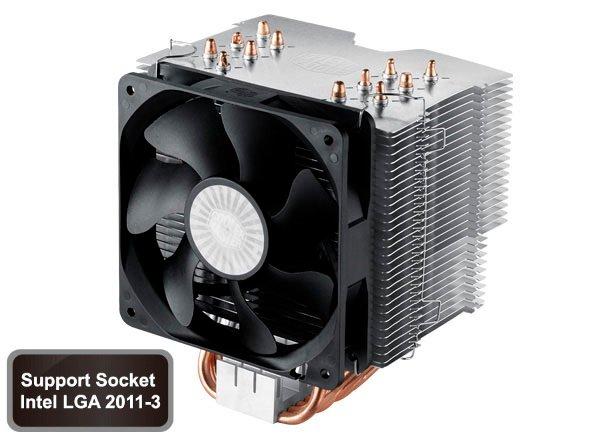 chladič Cooler Master Hyper 612 ver. 2 ,skt. 1155/1156/1366/775/AM2/AM3/FM1.silent 800-1300rpm