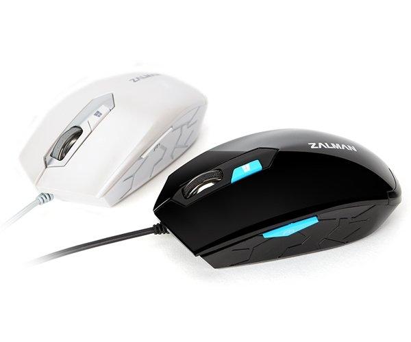 Zalman ZM-M130C - 2400DPI, black, USB optická myš