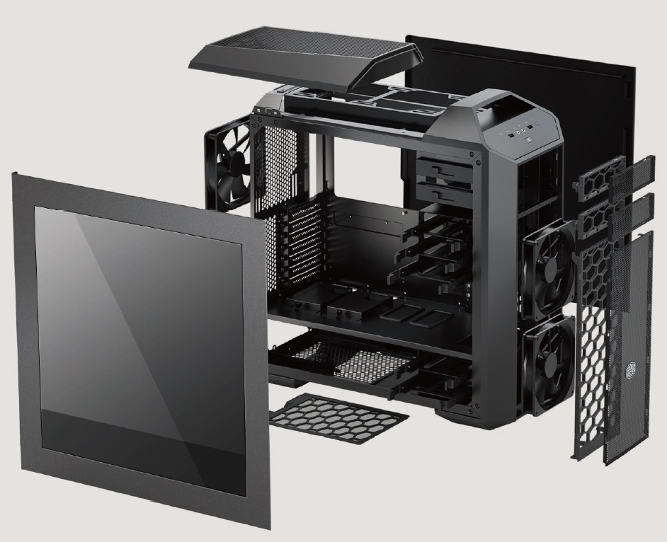 CoolerMaster case miditower Master  Case Pro 5