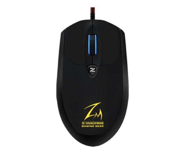 myš optická Zalman ZM-M600R - 4000DPI, black, USB