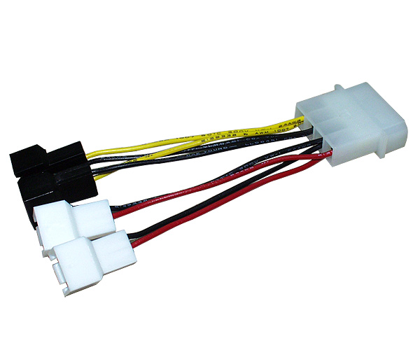 Redukční kabel Zalman ZM-MC1, molex > 3x 3-pin