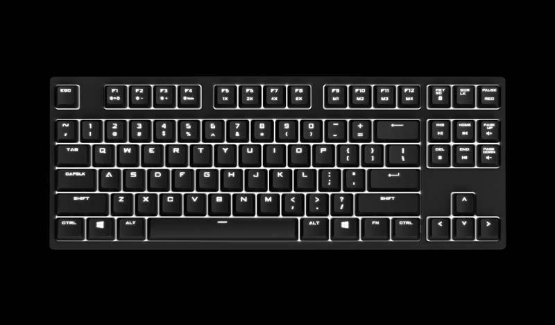CM klávesnice Quick Fire Rapid i/Hnědá