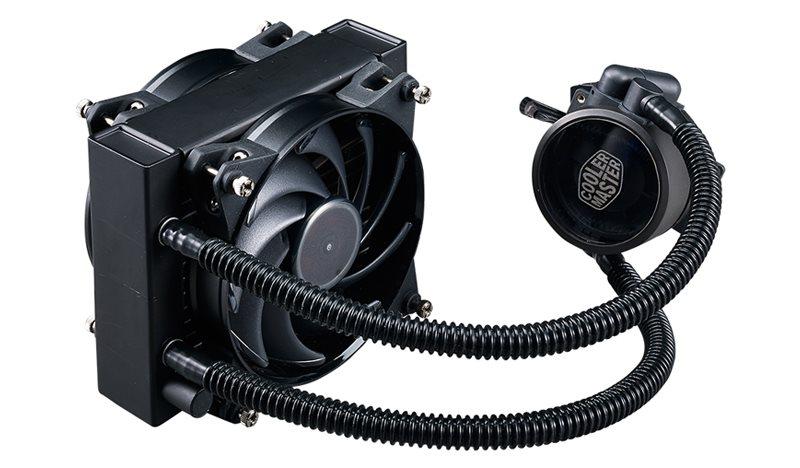 vodní chladič Cooler Master MasterLiquid Pro 120, univ. socket, 120mm PWM fan