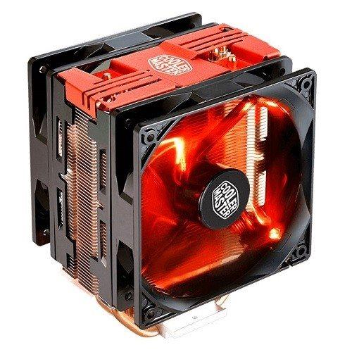 chladič Cooler Master Hyper 212 LED Turbo, red - RR-212TR-16PR-R1