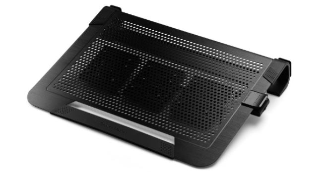 COOLER MASTER chladící podstavec pro notebooky 15''- 19'' NOTEPAL U3 PLUS, černý - R9-NBC-U3PK-GP