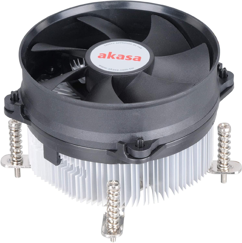 AKASA chladič CPU - Intel - hlinikové jádro V2 - AK-CCE-7105EP