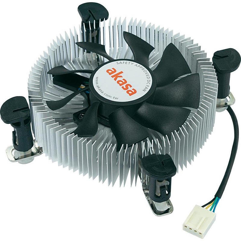 chladič CPU Akasa AK-CCE-7106HP low-profil