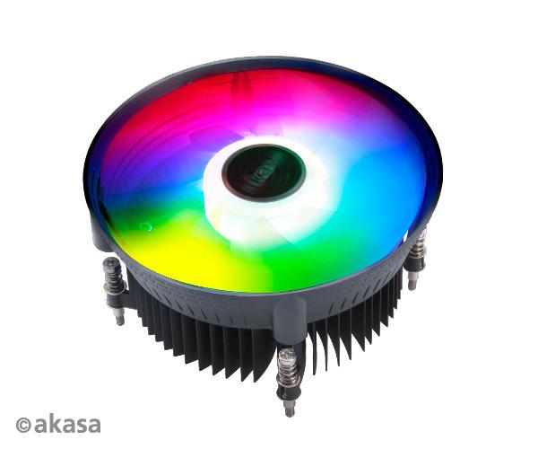 AKASA chladič CPU - Intel - aRGB - Vegas Chroma LG - AK-CC7139HP01