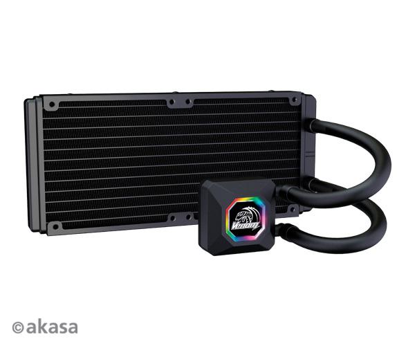 AKASA chladič CPU - vodní - Venom R20 RGB