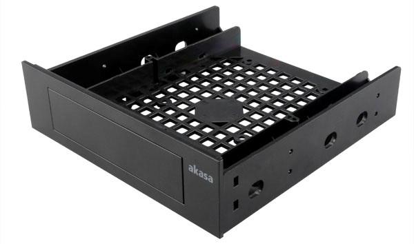 AKASA 3.5''/SSD/HDD adaptér do 5,25'' pozice - AK-HDA-05