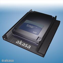 """AKASA  montážní kit do 3,5"""" pro 2 x 2,5"""" SSD"""