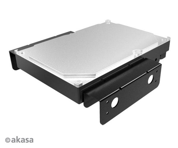 """AKASA montážní kit pro 3,5"""" HDD do 5,25"""" pozice"""