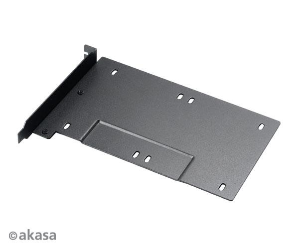 AKASA 2.5'' SSD/HDD montážní konzole pro PCI slot