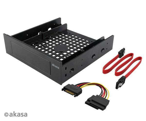 AKASA 3.5'' SSD/HDD adaptér s kabely - AK-HDA-12