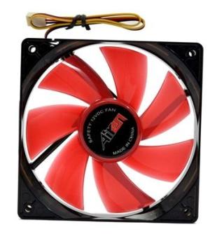 AIREN FAN RedWings120 LED RED - AIREN - FRW120LEDRED