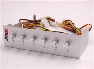 AIREN PANEL SilverSix (6 fans Speed Control 5,25'') - AIREN-PSS
