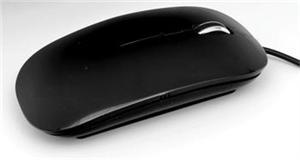 ACUTAKE PURE-O-MOUSE Black 800/1200DPI (USB) - PURE-O-MOUSE Black