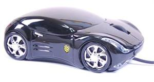 ACUTAKE Extreme Racing Mouse BK1 (BLACK) 1000dpi - ACU-ERM-BK1