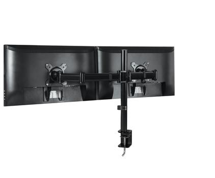 ARCTIC Z2 Basic – Dual Monitor Arm in black colour - AEMNT00040A