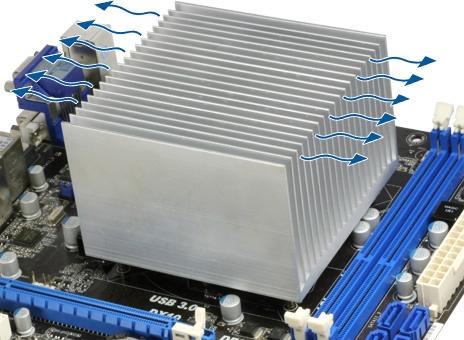 ARCTIC Alpine 11 Passive - Silent CPU Cooler